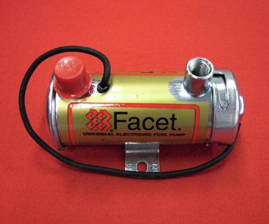 Benzínová pumpa Facet Silver Top